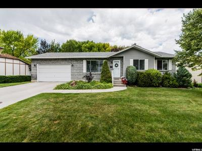 Logan Single Family Home Under Contract: 1159 N 680 E