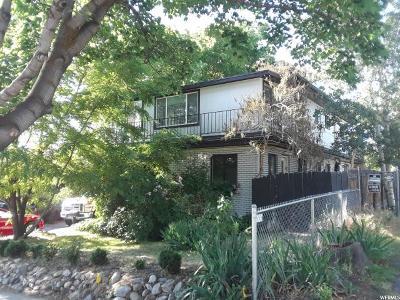 Salt Lake City Multi Family Home Under Contract: 1215 E 1700 S