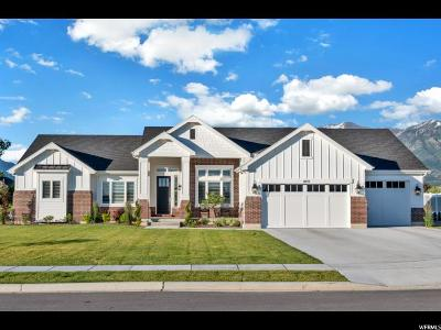 Kaysville Single Family Home For Sale: 1831 W Streams Edge Cir