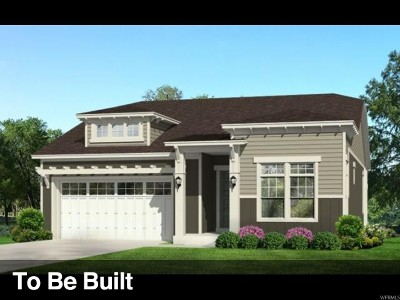 Cottonwood Heights Single Family Home Under Contract: 3515 E Bougival Ln S #150