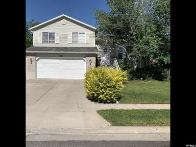 Layton Single Family Home Under Contract: 1321 N 2325 W