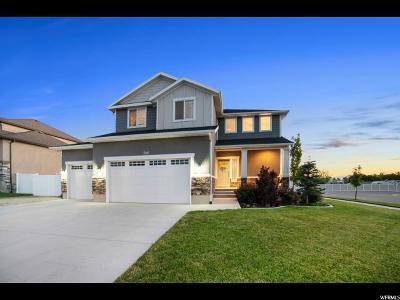 Herriman Single Family Home Under Contract: 7376 W Desert Brumby Dr