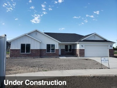 Springville Single Family Home Under Contract: 1327 W 50 N #LOT 6