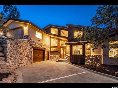 Park City Single Family Home For Sale: 7430 Buckboard Dr