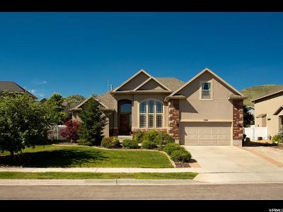 Herriman Single Family Home For Sale: 5201 W Ashland Rose Dr