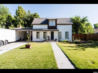 Hyde Park Single Family Home Backup: 137 W 200 N
