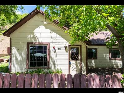 Park City Single Family Home For Sale: 180 Daly Ave