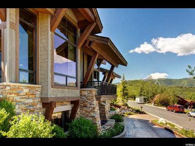 Park City Single Family Home Under Contract: 3845 Solamere Dr #64