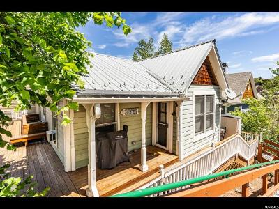 Park City Single Family Home For Sale: 316 Woodside Ave