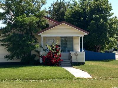 Preston Single Family Home Under Contract: 391 S 1st W
