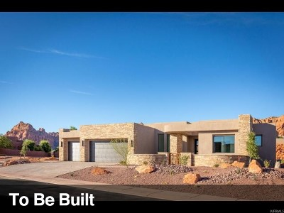St. George Single Family Home Under Contract: 3052 S Snow Canyon Pkwy #157