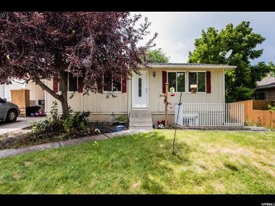 Logan Single Family Home Under Contract: 1175 N 400 E