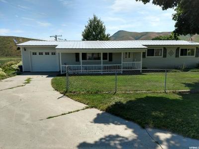 Preston Single Family Home Under Contract: 9252 N Treasureton W