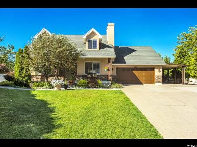 South Weber Single Family Home Under Contract: 2355 E 7925 S