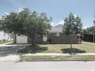 Provo Single Family Home For Sale: 125 S 1980 W