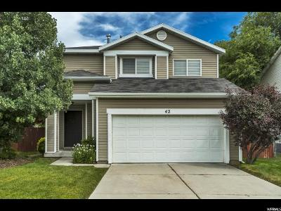 Layton Single Family Home Under Contract: 42 E 850 S