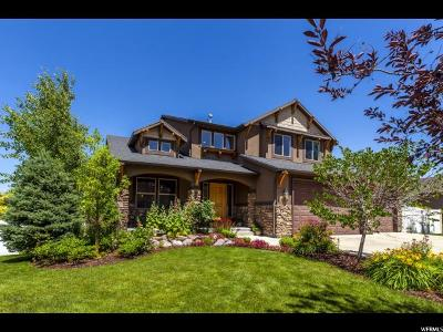 Herriman Single Family Home Under Contract: 5534 W Alder Rose Cir