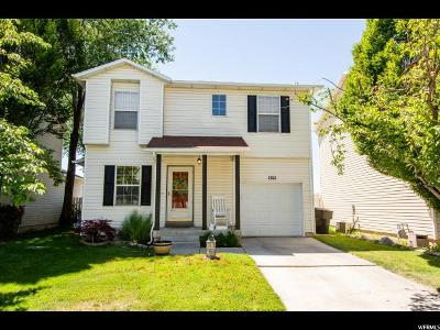 Clinton Single Family Home Under Contract: 1921 N 2225 W