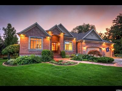 Holladay Single Family Home For Sale: 2186 E Glen Haven Ln