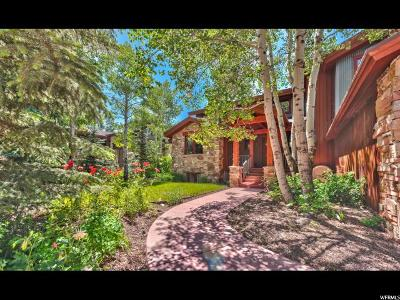 Park City Single Family Home For Sale: 11 Claimjumper Ct