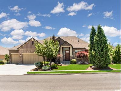 Kaysville Single Family Home For Sale: 145 N Vista View Dr