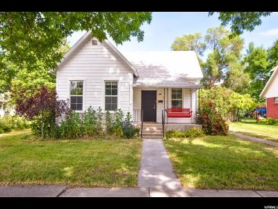 Logan Single Family Home Under Contract: 32 S 500 W