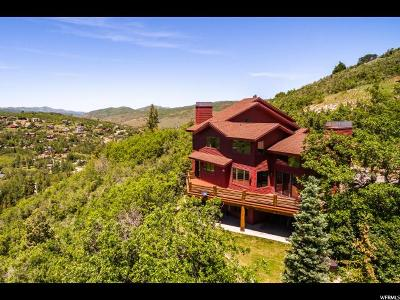 Park City Single Family Home Under Contract: 7497 N Tall Oaks Dr