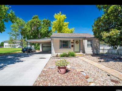 Single Family Home Under Contract: 742 S 100 E
