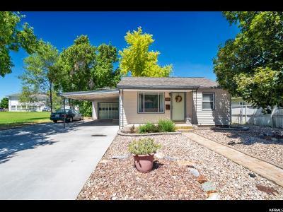Springville Single Family Home Under Contract: 742 S 100 E