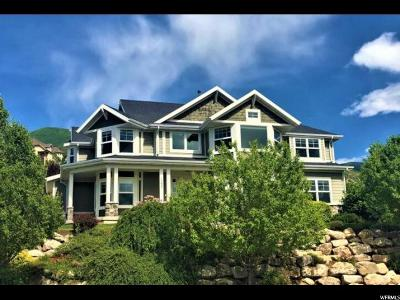 Fruit Heights Single Family Home Backup: 1233 S High Crest Cir