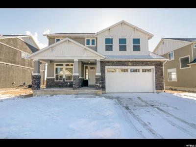 Lehi Single Family Home For Sale: 3087 W 2400 N #203