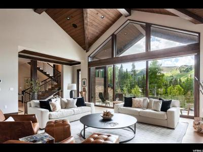 Park City Single Family Home For Sale: 231 White Pine Canyon Rd