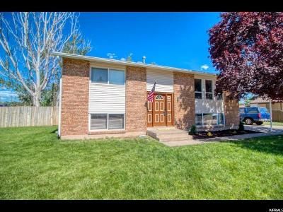 Clearfield Single Family Home Under Contract: 2360 S 300 W