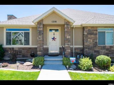 American Fork Single Family Home For Sale: 1258 E 650 N