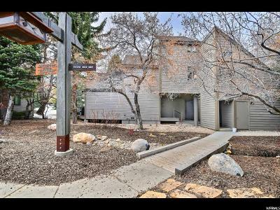 Park City Townhouse For Sale: 1700 Three Kings Dr #163