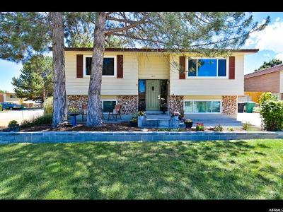 West Jordan Single Family Home Under Contract: 3673 W Decatur Cir S