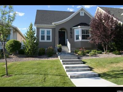 Lehi Single Family Home For Sale: 895 W 2630 N
