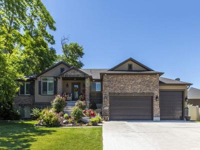 South Weber Single Family Home Under Contract: 2557 E 7870 S