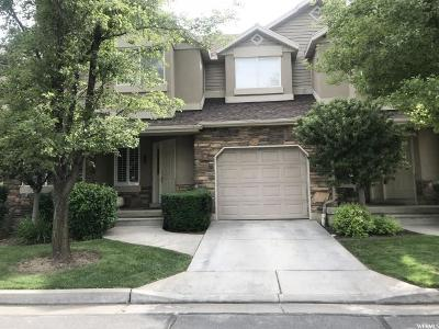 Layton Townhouse For Sale: 794 S Creekview Dr