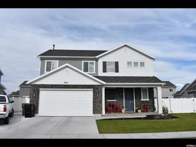 Syracuse Single Family Home For Sale: 3581 S Water Lilly Ln