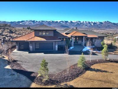 Park City Single Family Home For Sale: 7518 Sage Meadow Dr