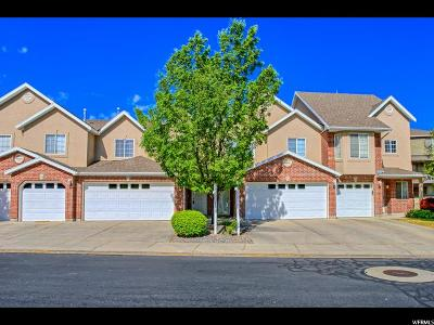 South Jordan Townhouse For Sale: 10466 S Sage Creek Rd W