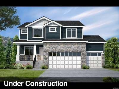 Syracuse Single Family Home For Sale: 1094 S 4000 W #LOT 7