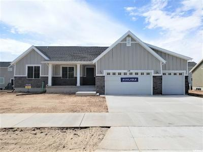 Syracuse Single Family Home For Sale: 1118 S 4000 W #LOT 5