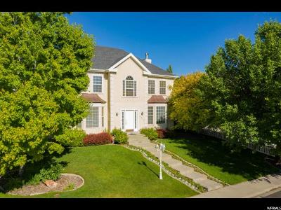 Orem Single Family Home For Sale: 1810 N Sunrise Dr