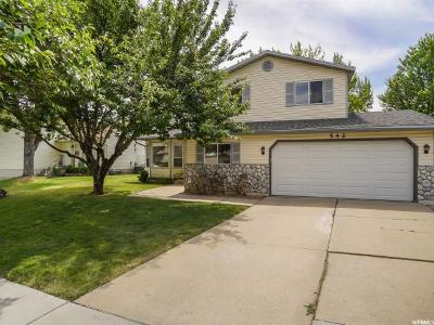 Layton Single Family Home Under Contract: 542 S 900 E