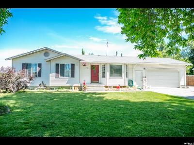 Nibley Single Family Home Under Contract: 47 W 300 N