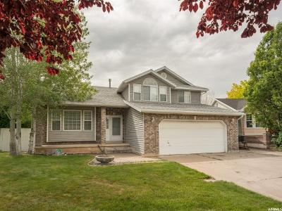 Layton Single Family Home Under Contract: 1165 N 2825 W