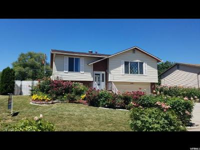 Layton Single Family Home Under Contract: 1362 W 1200 N