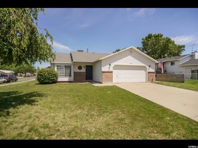 Clearfield Single Family Home Under Contract: 1470 W 1045 S